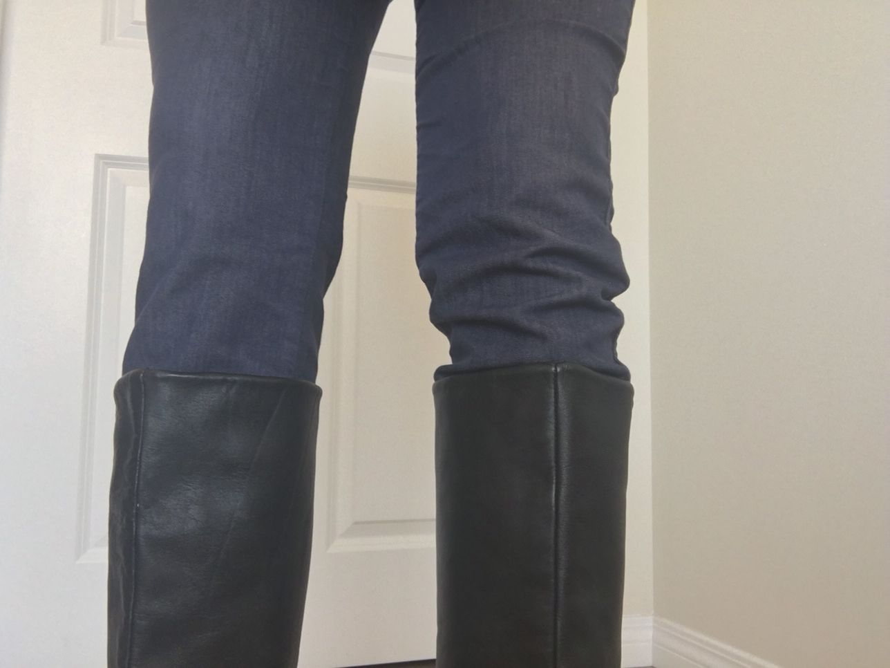 Picture of Keep Your Jeans in Place When Wearing Boots