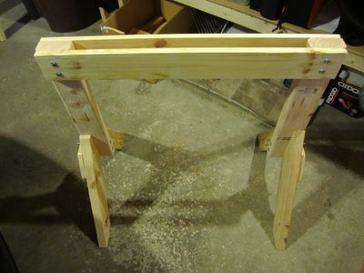 Assembly (2 of 3): Horizontal Supports