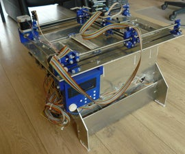 Plan B, an open source 3DP (powder and inkjet) 3D printer