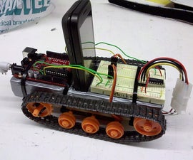 Android G1 Serial to Arduino Robot