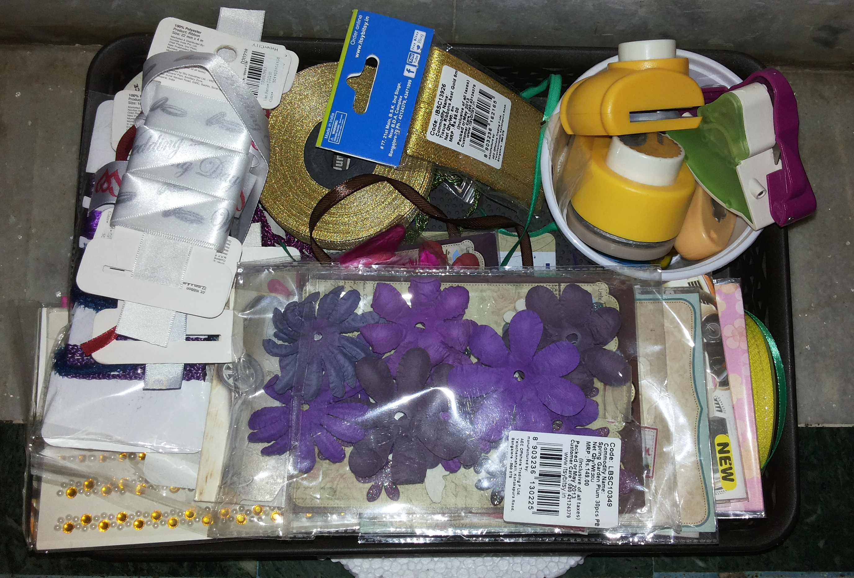 Picture of Organizing the Craft Supplies