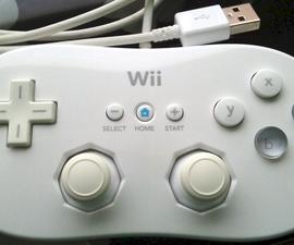 Teensy USB Wii Classic Controller