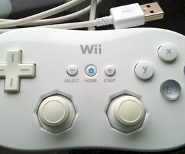 Teensy USB Wii Classic Controller