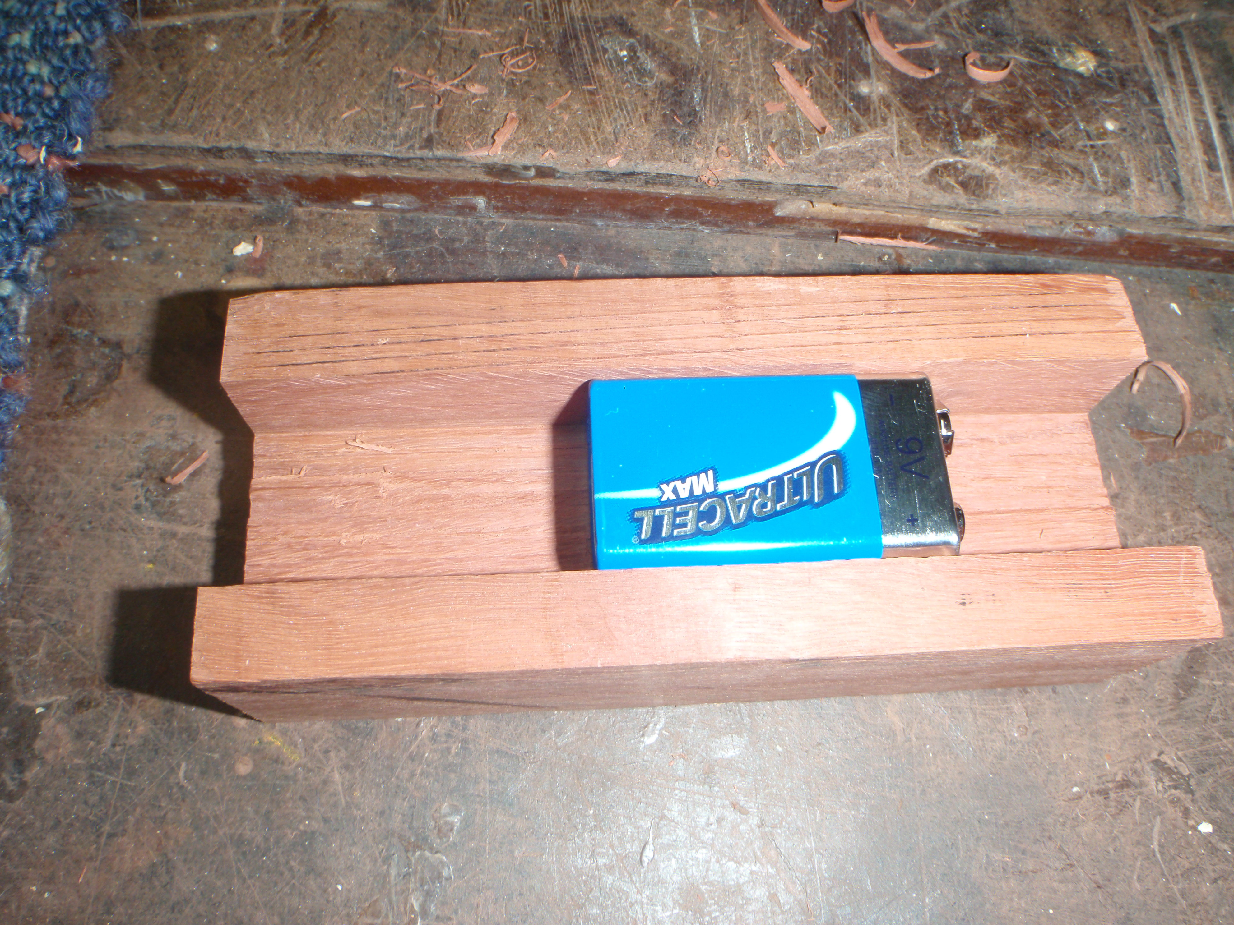 Picture of Making the Wooden Base (glow in the Dark Sign)