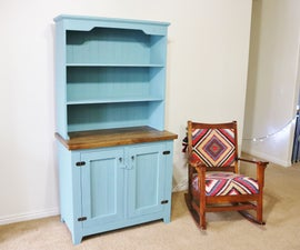 Make a Farmhouse Style Hutch