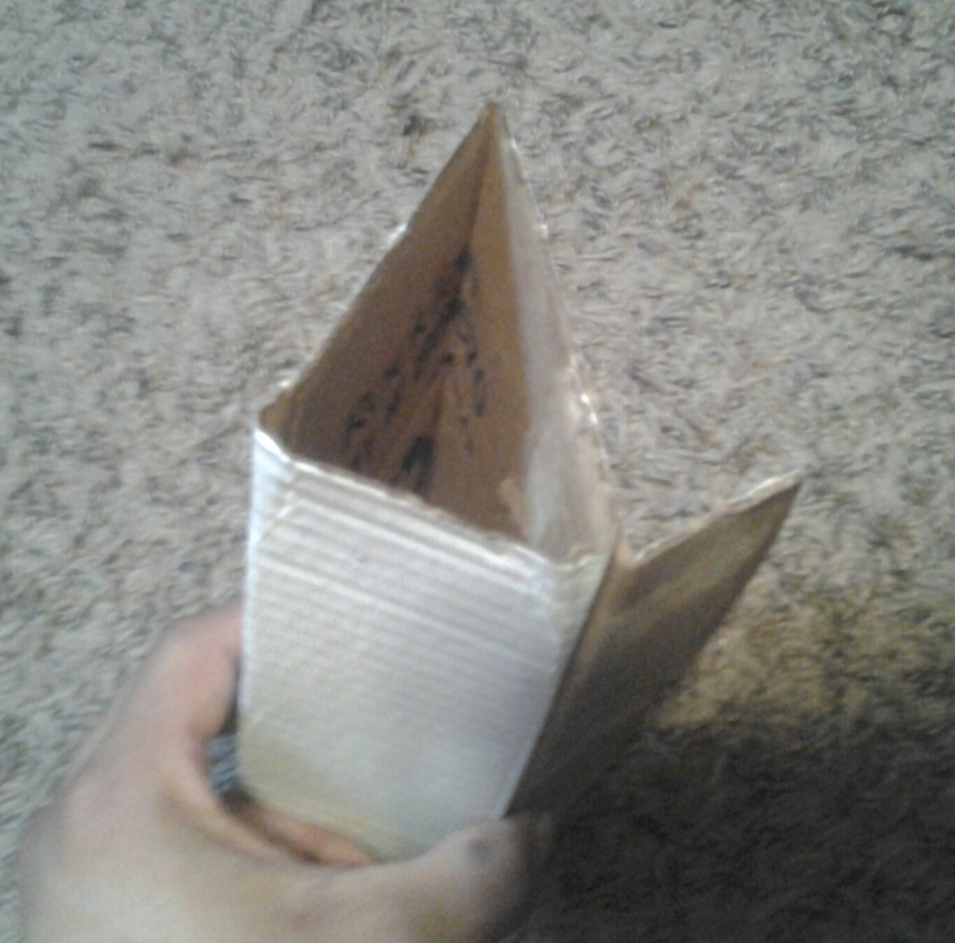 Picture of Fold the Cardboard