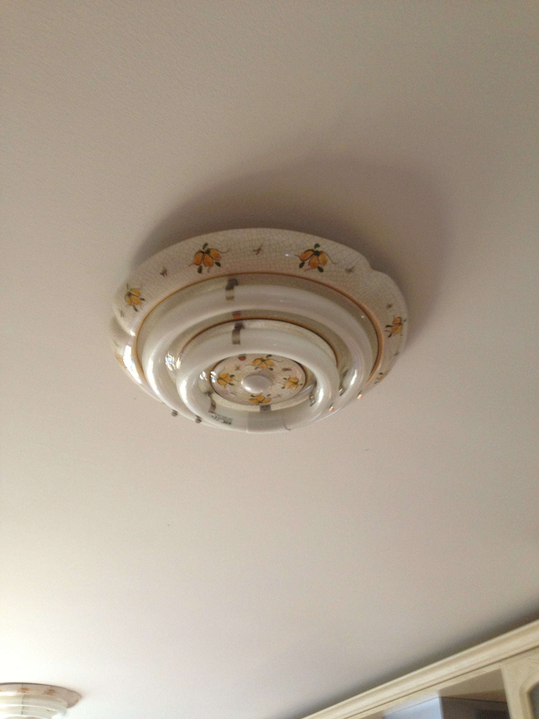 How to repair a dead fluorescent light fixture with a cfl