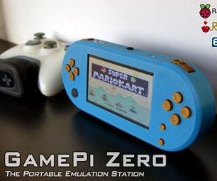 GamePi Zero - the Favorable Emulation Station