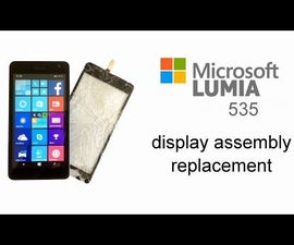 Microsoft Lumia 535 with broken Touch screen