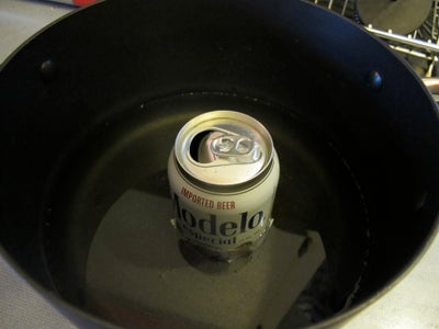 Put the Can in the Water.
