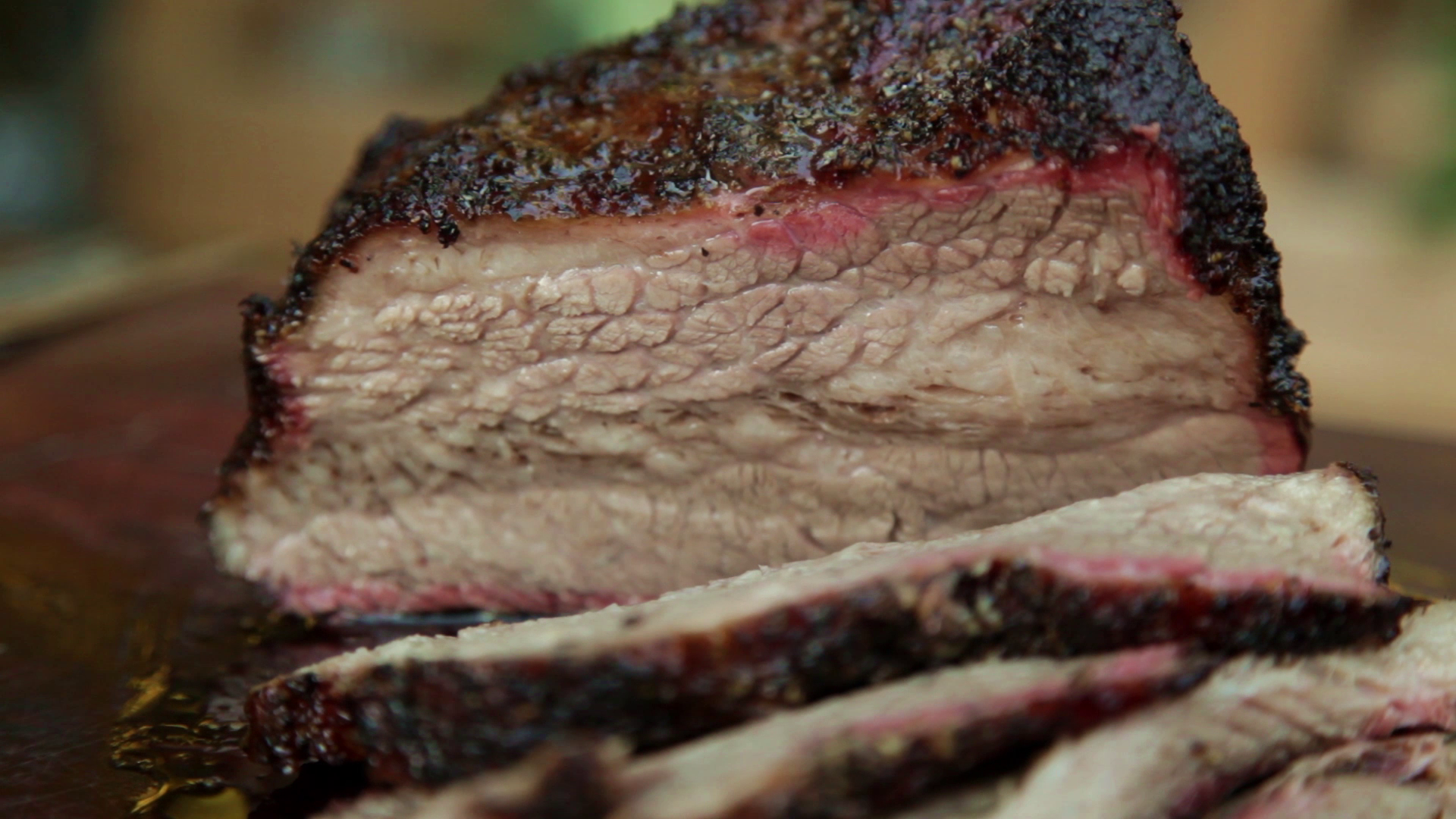 Picture of All That's Left to Do Is Slice Into This Brisket.