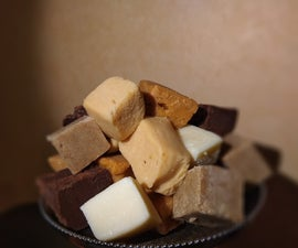 Two Ingredient Fudge Featuring Caramelized White Chocolate
