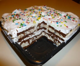 Super Simple Ice Cream Cake