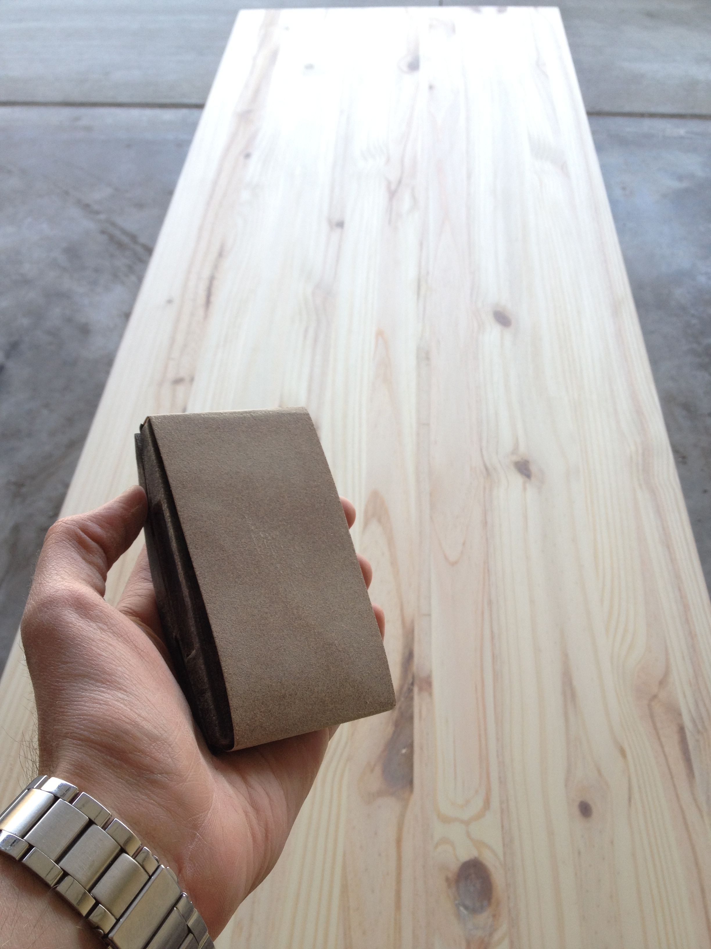 Picture of Sand & Stain Wood