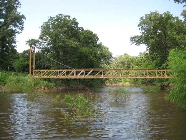 Oklahoma Suspension Bridge