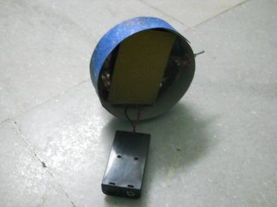Battery and Switch Housing