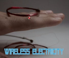 Simplest Wireless Electricity Transmission Experiment