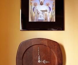 Wooden Plate Clock Tutorial