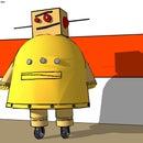 3d Instructables Robot - Sketchup