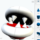 3D Printable Mario Sewer Pipe & Piranha Plant