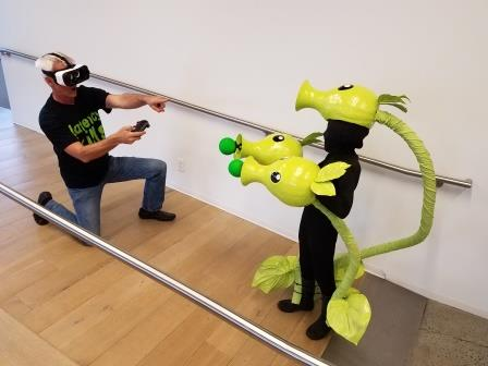 Picture of Be a Life Size VR Game!