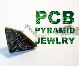 PCB Pyramid Jewelry