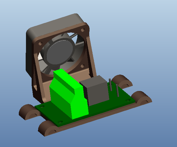 Picture of Assemble Heatbed Components
