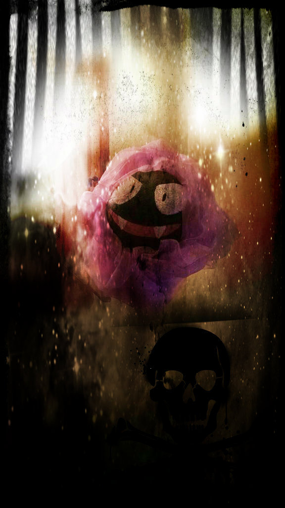 Picture of Gastly (Ghost Pokemon Decoration)