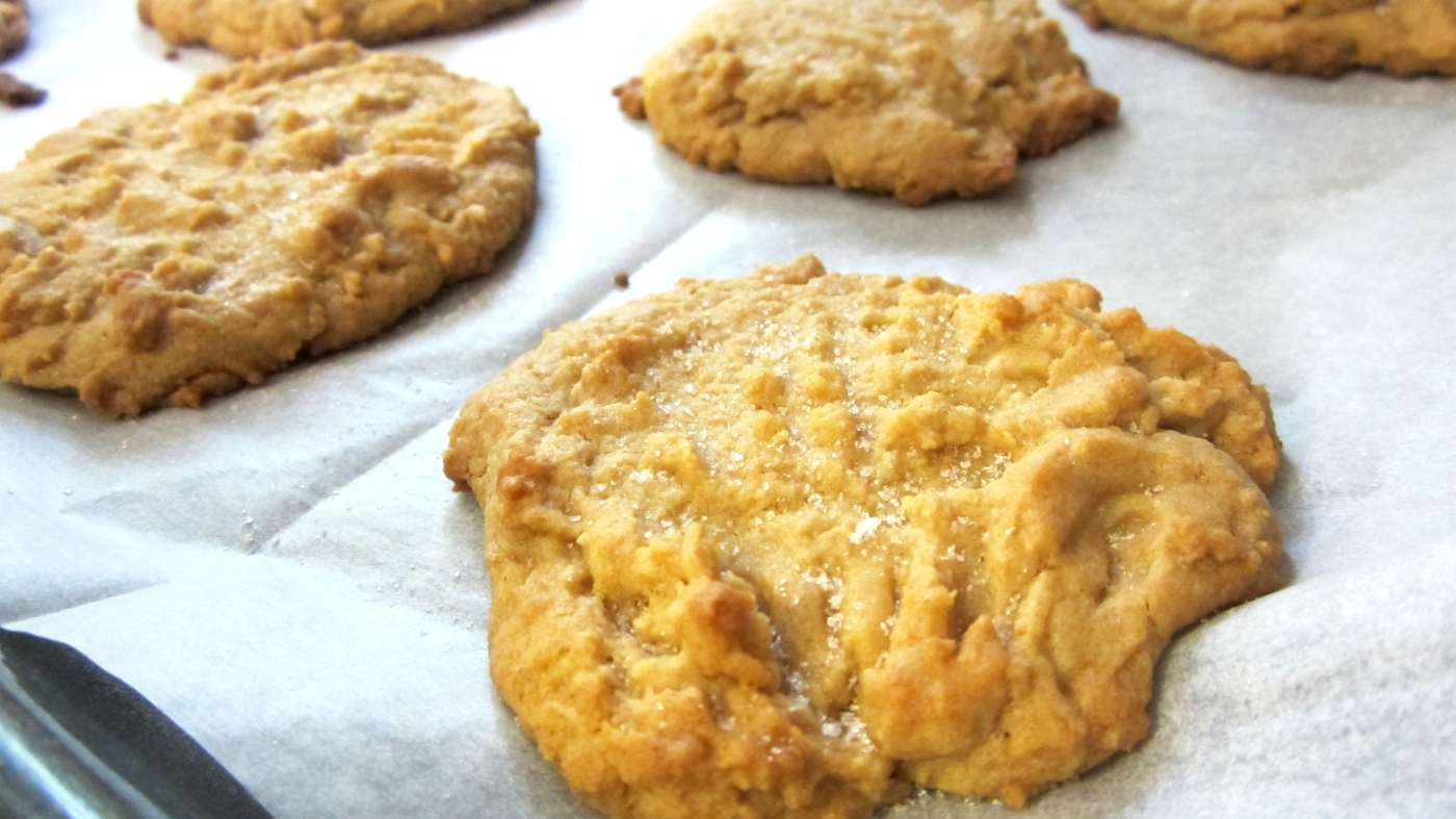 Picture of No Fuss Peanut Butter Cookies!