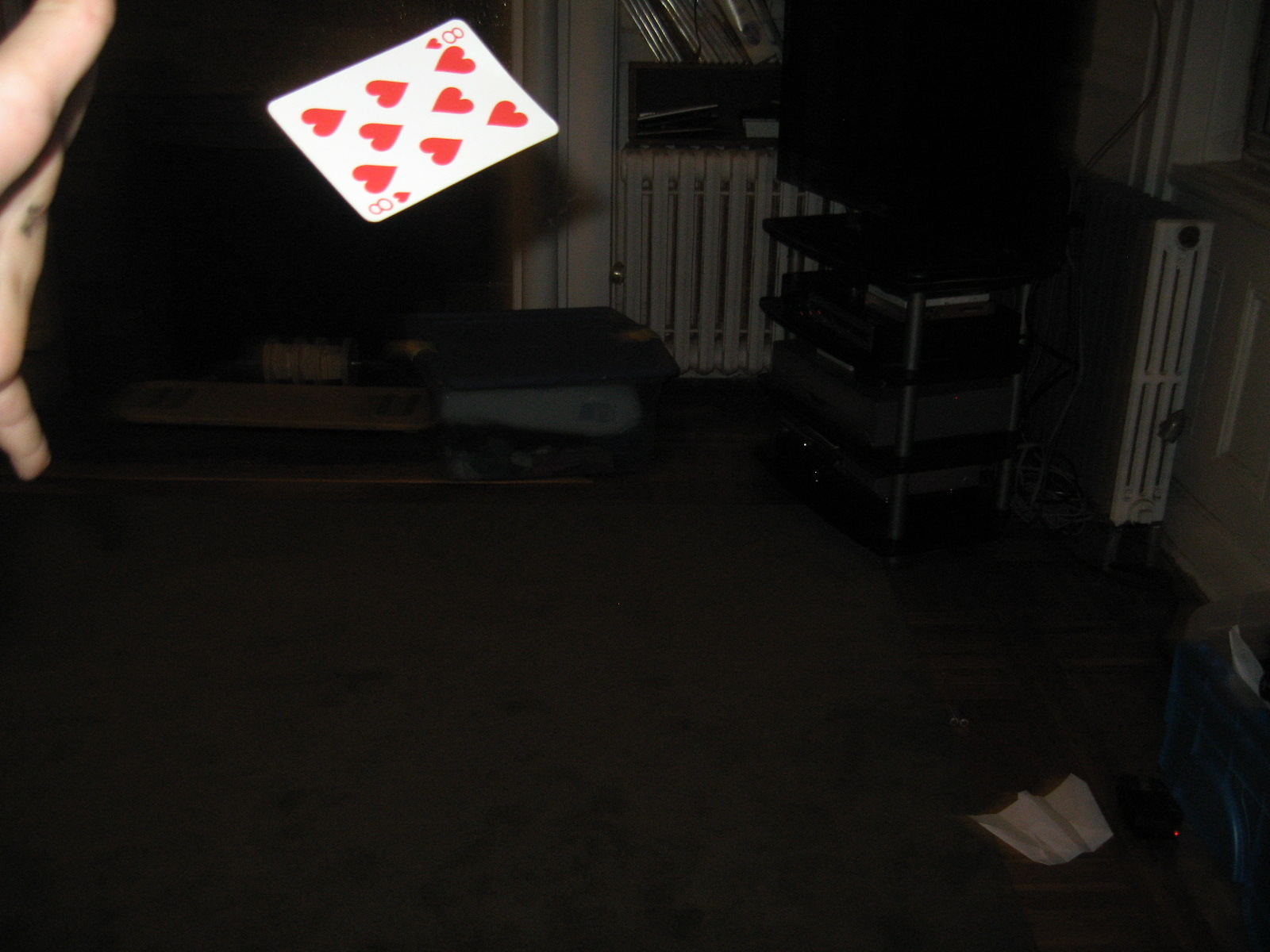 Picture of How to Throw a Playing Card!