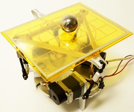 3DOF Ball on Plate Using Closed Loop Stepper Motors
