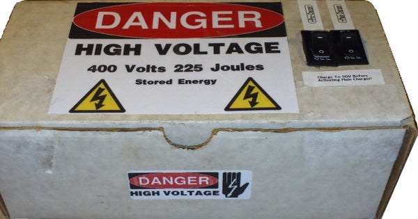 How to Make a High Voltage Power Supply