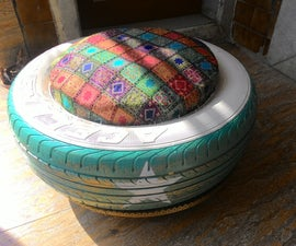 Diy Tyre Ottoman
