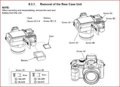 Converting a Lumix DMC FZ-7 Camera to Infrared : 8 Steps