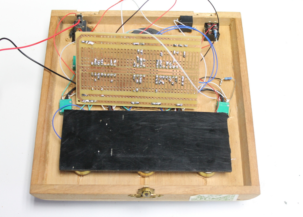 Picture of Attaching the Circuity Board and Lid