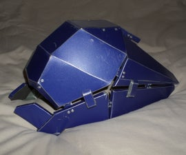 Metal Cosmoclast Helmet (Destiny: Rise of Iron)