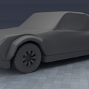 3d printed dual band pull string car