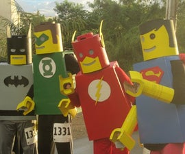 The Justice Lego League of America saving the world, one Lego block at a time.