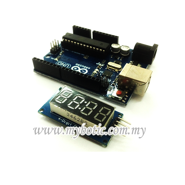 Picture of Tutorial How to 4-Digit Display Interface With Arduino UNO