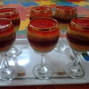 Easy Custard and Jelly Cups.