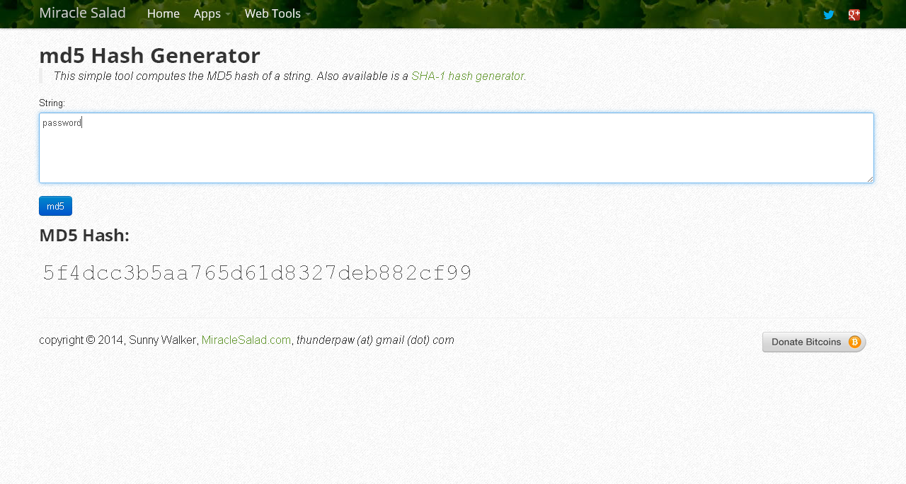 Picture of Open Up a Hash Generator
