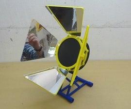 Solar Stirling Engine Stand