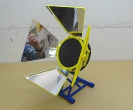 Solar Stirling Engine Stand