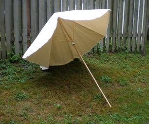 How to make a beach umbrella
