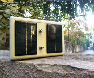Tame the Beast! Make a Solar Powered Arduino Unit