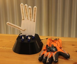 Controllable Robotic Hand with Flex Sensors & Servos