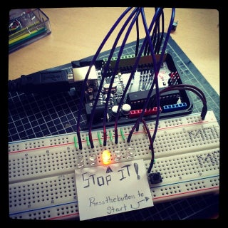 StopIt! LED Game (powered by Arduino)