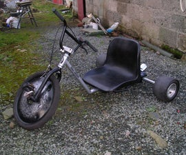 How I Built a Drift Trike a Step by Step Guide.