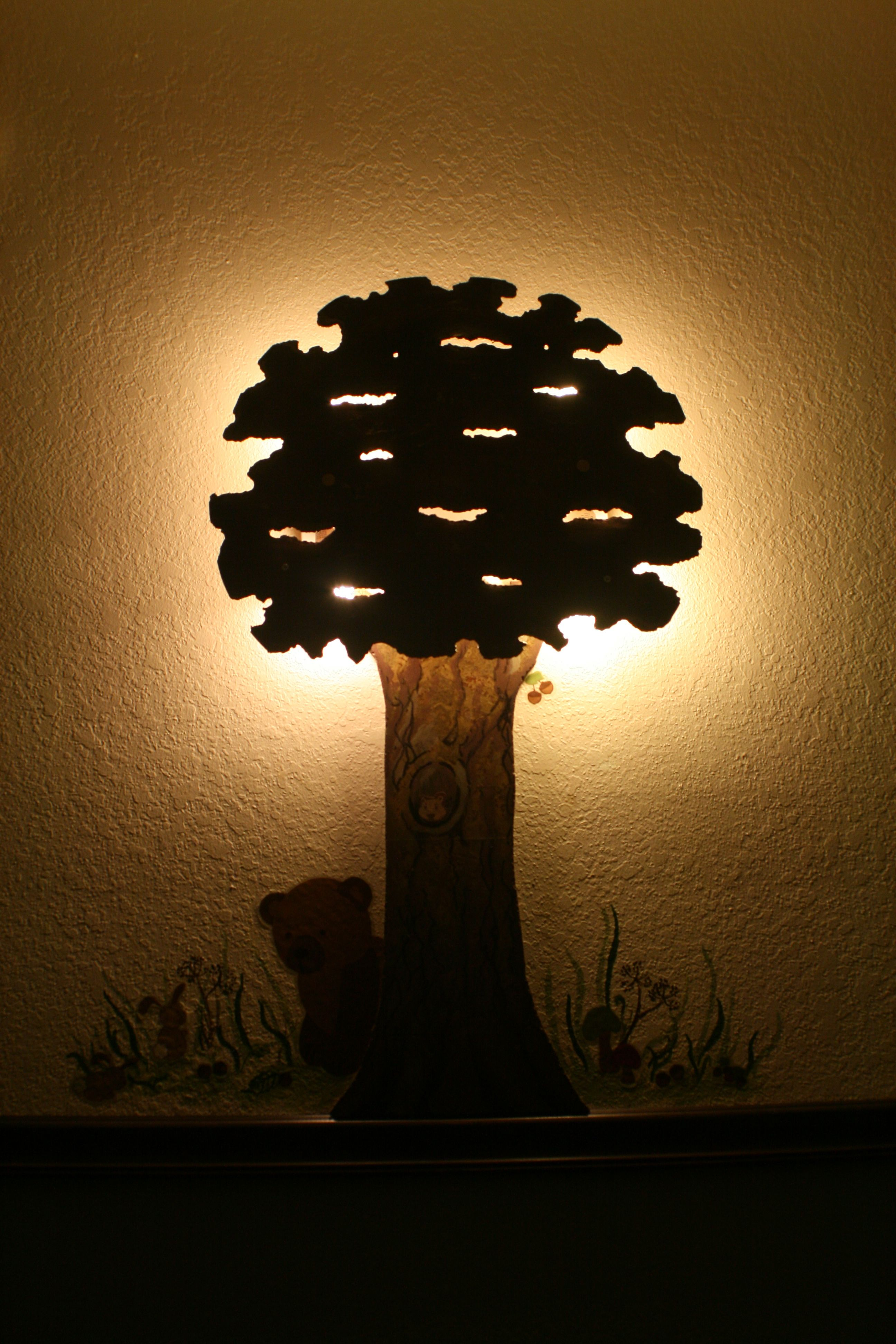 Picture of Make a Custom Wall Lamp Out of Scraps