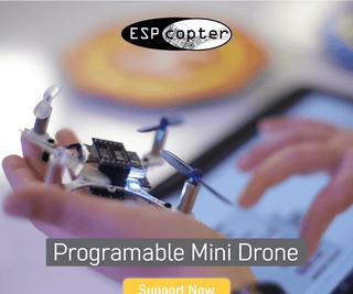 ESPcopter: Programmable Mini Drone